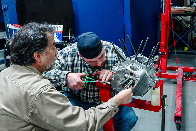 How To Build a Chopper Engine Work
